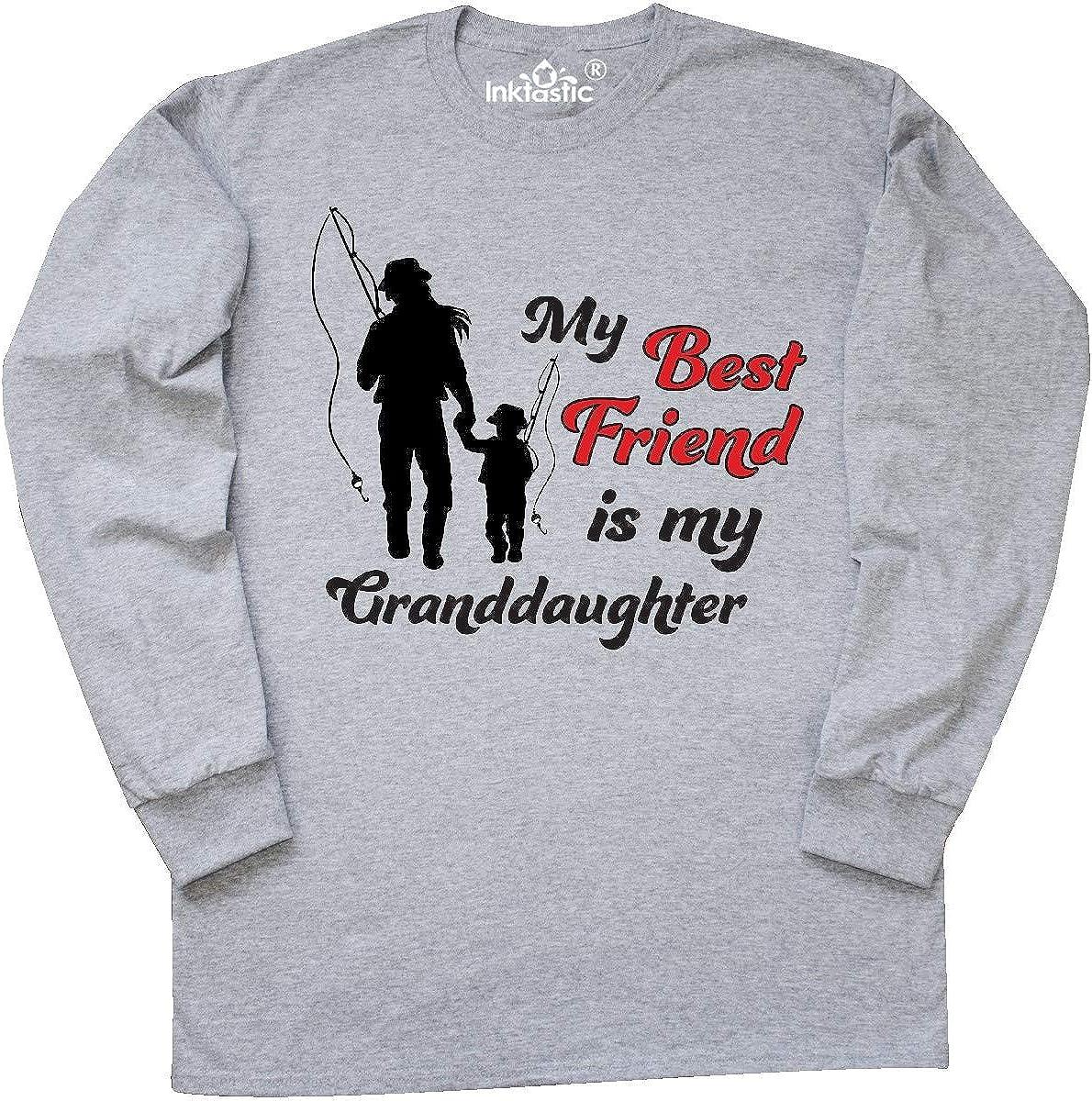 inktastic My Best Friend is My Grandson Baby T-Shirt
