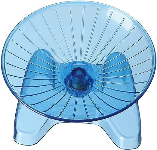 Pet supplies Hamster platillo Volante Azul del Ejercicio de Rueda ...