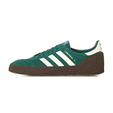 a5c62f965efc82 adidas Mens Montreal 76 Suede Noble Green Off White Gum Trainers 7.5 US