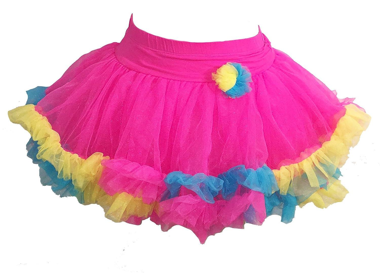 d1a9723eb0e4 Amazon.com: Jona Michelle Baby Girls Bright Pink Pastel Tutu: Clothing