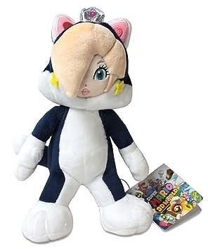 "Sanei Super Mario Series 9"" Cat Rosalina Plush Doll"