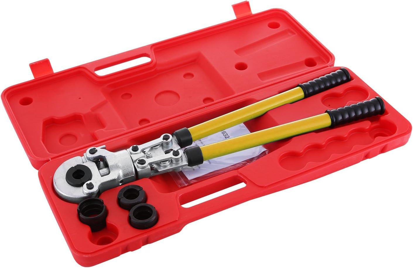 Pinces A Sertir Diam/ètre De 16-32mm Pince De Main C/âble Kit De Pince De Sertissag
