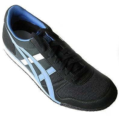 asics onitsuka tiger ultimate 81 black/parisian blue sneaker
