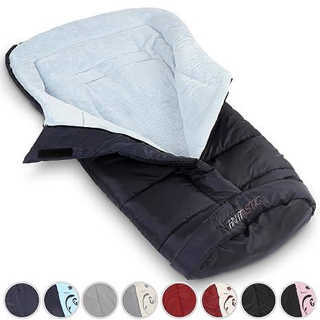 Infantastic Saco de dormir para bebé calentador de saco de invierno para cochecito asiento de coche