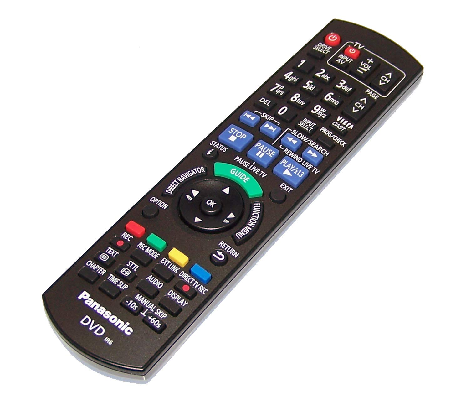 OEM Panasonic Remote Control Shipped with DMRXW390, DMR-XW390, DMRXW390GL, DMR-XW390GL by Panasonic