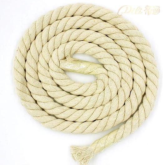 HYZKJ Cuerda Cuerda De Algodón De Color Beige Cuerdas Gruesas De ...