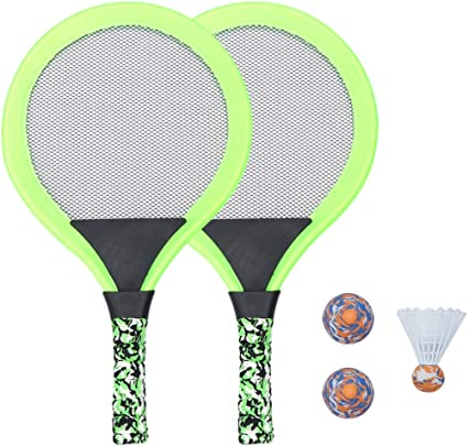 1 Set Tennis Educational Racket Game Toys for Girls Boys Outdoor Kids Sports