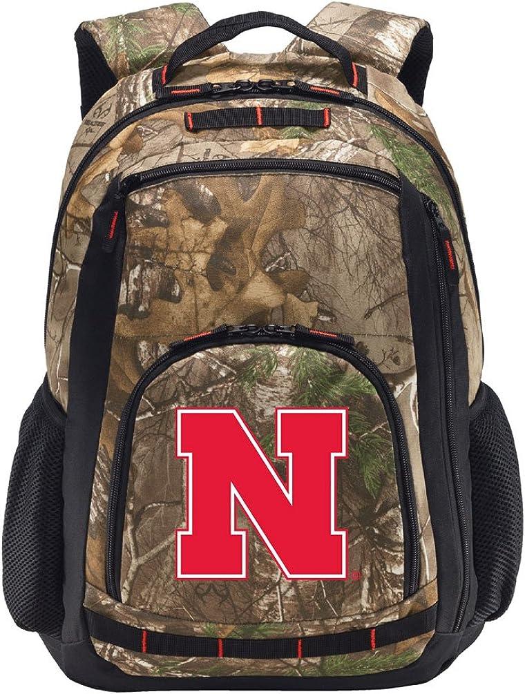 Broad Bay University of Nebraska Camo Backpack Nebraska Huskers Backpacks - Laptop Section!