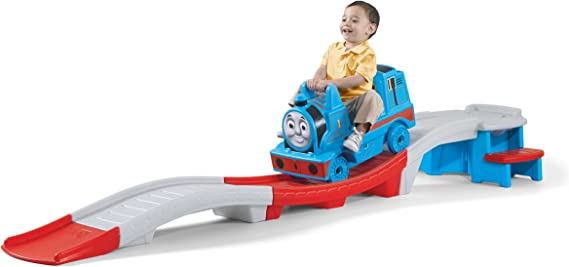 Thomas Train Set Up And Down Roller Coaster Kids Toy Riding Track Boys Girls 9Ft