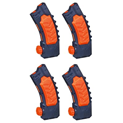 Nerf Super Soaker Banana Clip Pack of 4 Clips Bundle: Sports & Outdoors