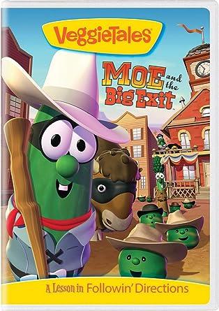 Amazon.com: VeggieTales: Moe and the Big Exit: Mike Nawrocki ...