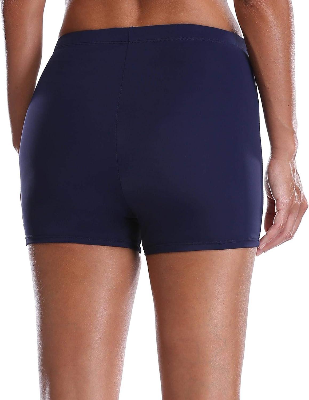 Anwell Damen Short Badehose Fitnesshose