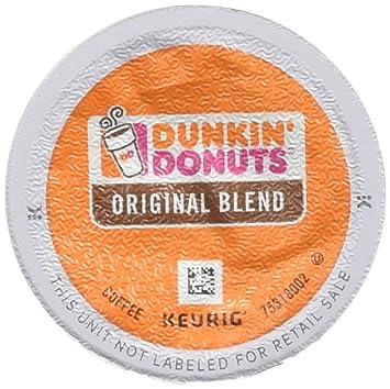 Dunkin Donuts Original Blend KCup Pods 44 Cups Amazoncom