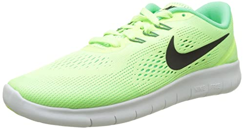 buy popular 5bf84 4d0b4 Nike Free RN, Scarpe Running Bambina, Verde (Ghost Black/Electro Green/