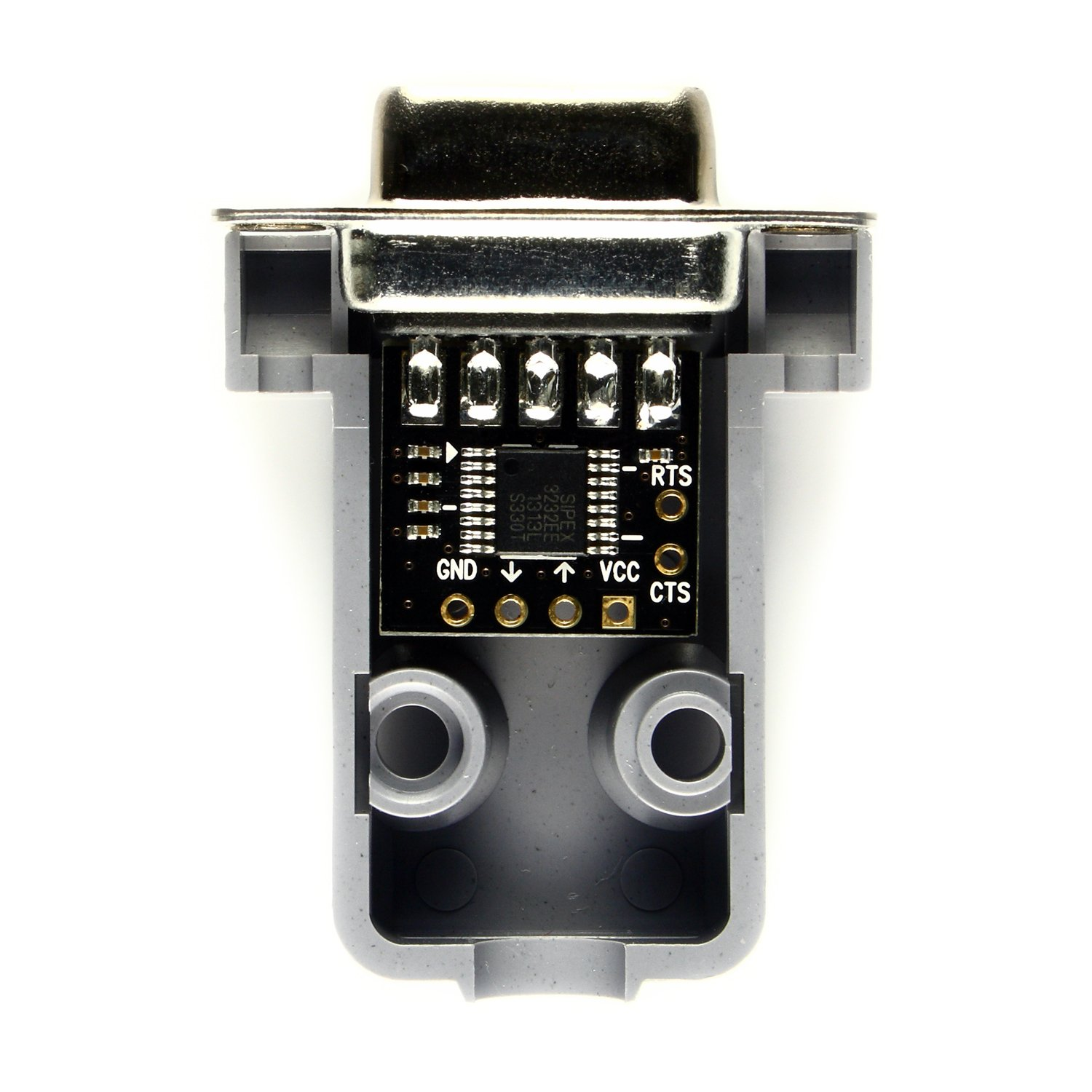 NulSom Inc. Ultra Compact RS232 to TTL Converter with Female DB9 and Hood Kit (3.3V to 5V) by NulSom Inc. (Image #3)