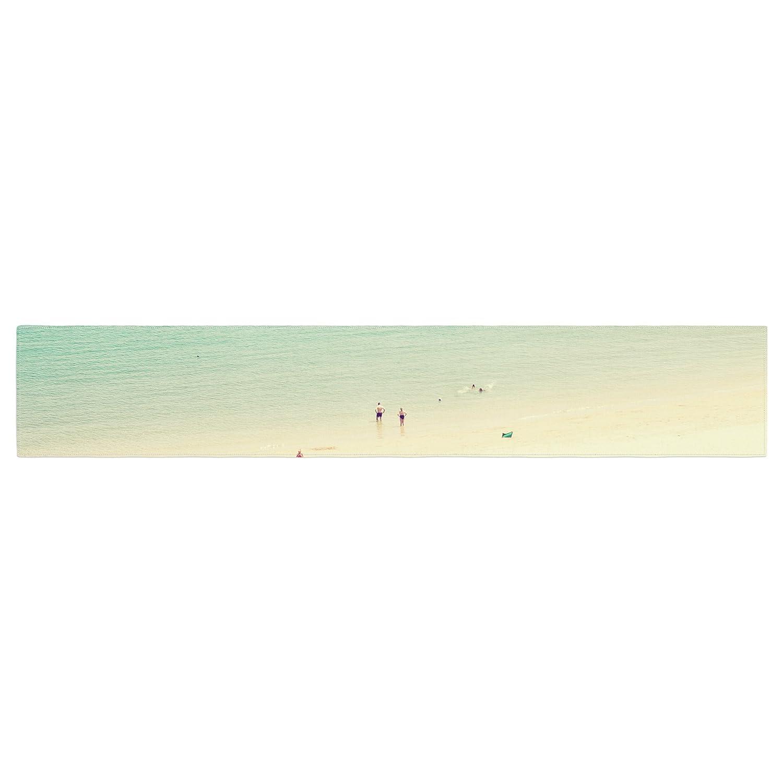 Kess InHouse IR2052ATR01 Ingrid Beddoes Happy Summer Beach Table Runner