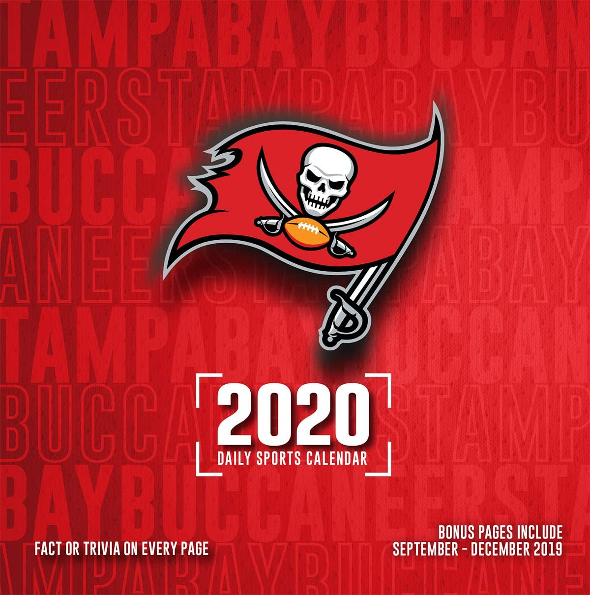 Amazon Com Tampa Bay Buccaneers 2020 Calendar Office Products