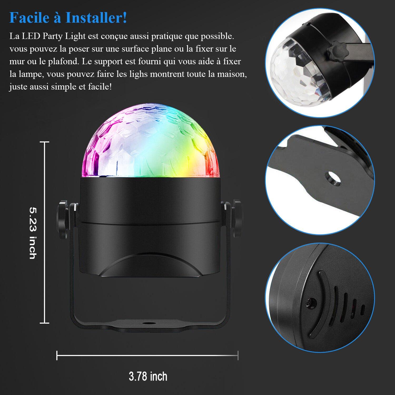Led 6w Ampoule FêteAdorishe Lampe Cristal Disco De Anniversaire Lumiere Rgb Scène Lumière Eclairage Effet Couleurs Boule 7 O8nPwk0X