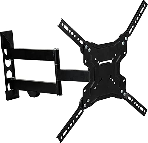 Stanley TV Wall Mount – Slim Full Motion Articulating Mount for Large Flat Panel Television 23 -55 TMX-104FM