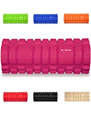 "KG Physio Foam roller for deep tissue muscle massage to enhance recovery and performance grid roller design! - 13""x5"" - Ideal for Yoga, Pilates, Myofascial Release, Pain relief, IT Band"