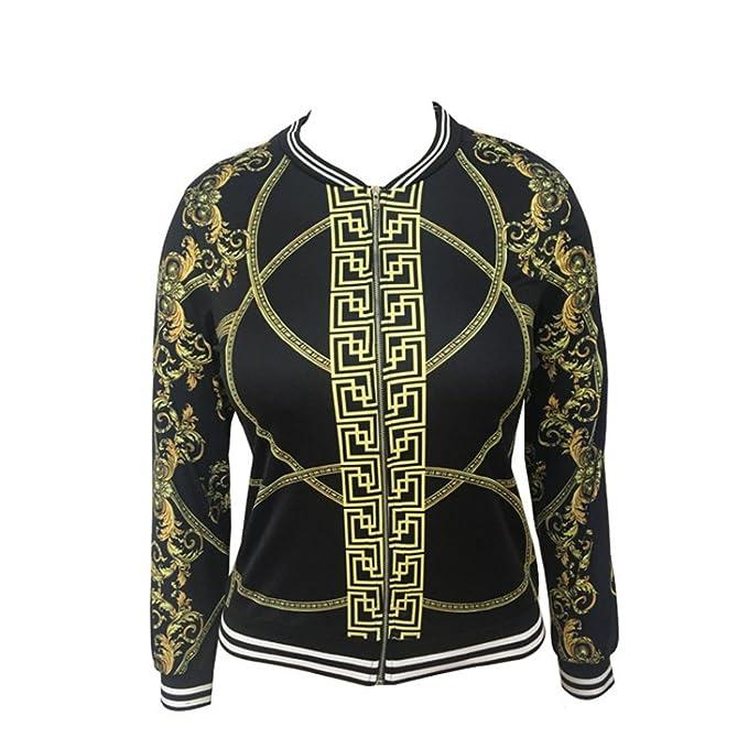 Amazon.com: Tianshui tienda otoño para mujer Bomber ...