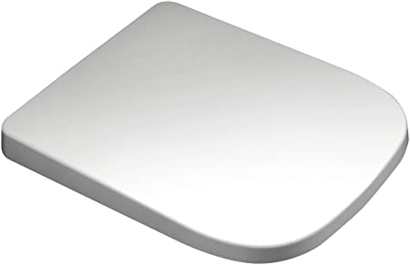 square shaped toilet seat. Euroshowers Square Shaped Soft Close Toilet Seat Top  Bottom Fix No Slip Fittings