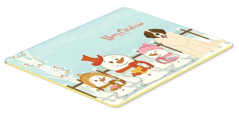 Caroline 's Treasures bb2358cmt Merry Christmas Carolers Moscowウォッチドッグキッチンやバスマット、20