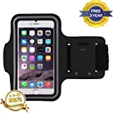 AS Direct Ltd ™ iPhone 6/6S/7 Premium Armband Case Cover Holder Suitable for Sports Running, Jogging, Gym With Headphone Slot Holder, Key Slot Holder And Adjustable Strap