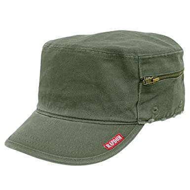 c914055c Rapid Dominance Vintage Military French Brim Hats Angle w/ pocket, Small,  Olive