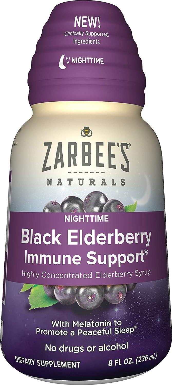 f4474644c430 Amazon.com  Zarbee s Naturals Black Elderberry Immune Support Highly ...