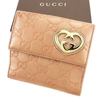 finest selection cb364 25a7d Amazon | グッチ GUCCI Wホック 財布 二つ折り 財布 レディース ...