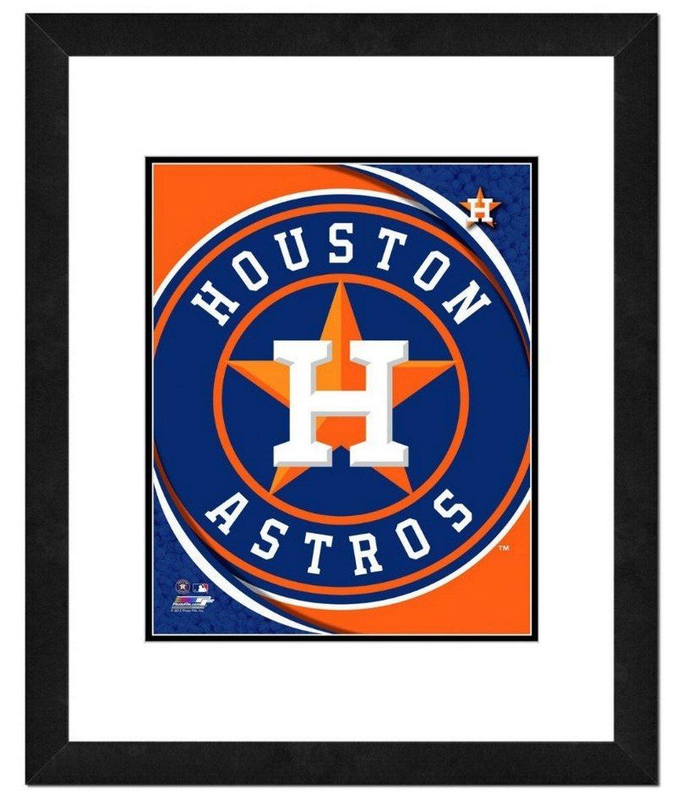 フォトファイルHouston Astrosチームロゴ入り印刷写真アートワーク18 x 22 MLB Tx   B076VNQPTN