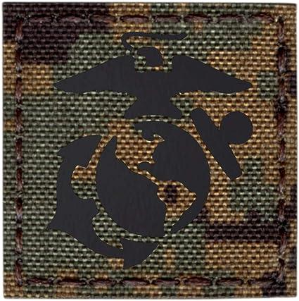 IR USMC 3x3 USA Marines EGA Multicam Semper Fidelis Fi morale tactical patch