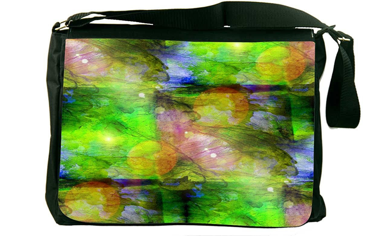 Rikki Knight美しい抽象アートデザイン# 3デザインメッセンジャーバッグ – ショルダーバッグ – スクールバッグ学校や作業  SunGlare B074KLN8TG