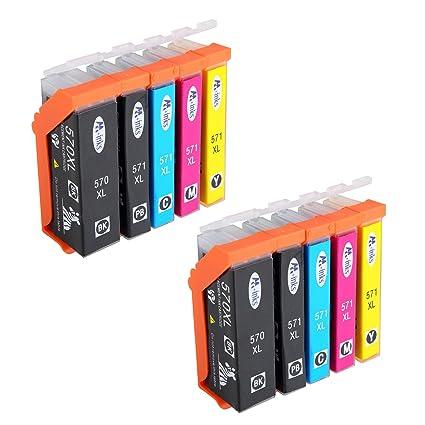 AA + inks Repuestos para cartuchos de impresora CANON pgi-570 cli ...