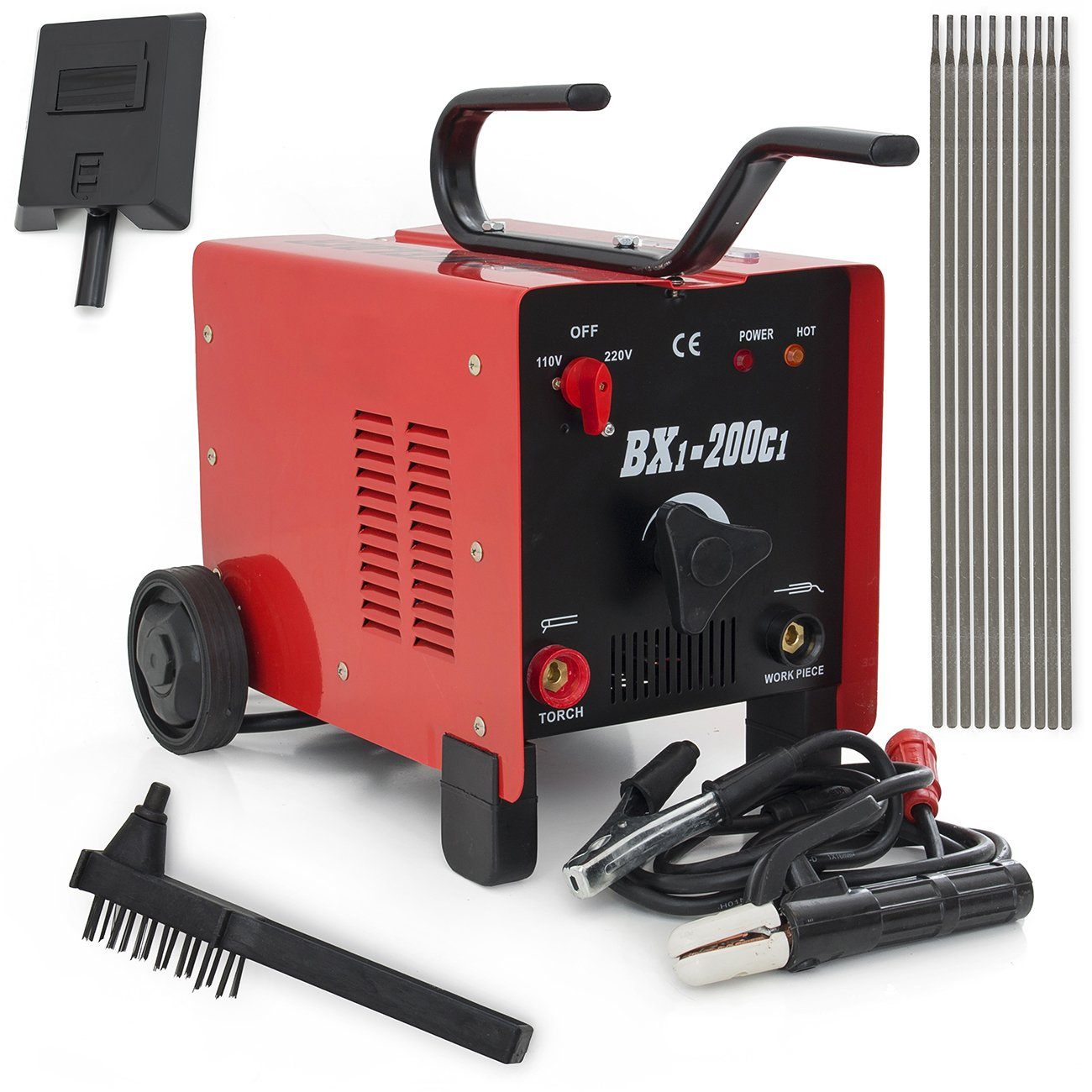 New 200 Amp Arc Welder Electric Welding Machine