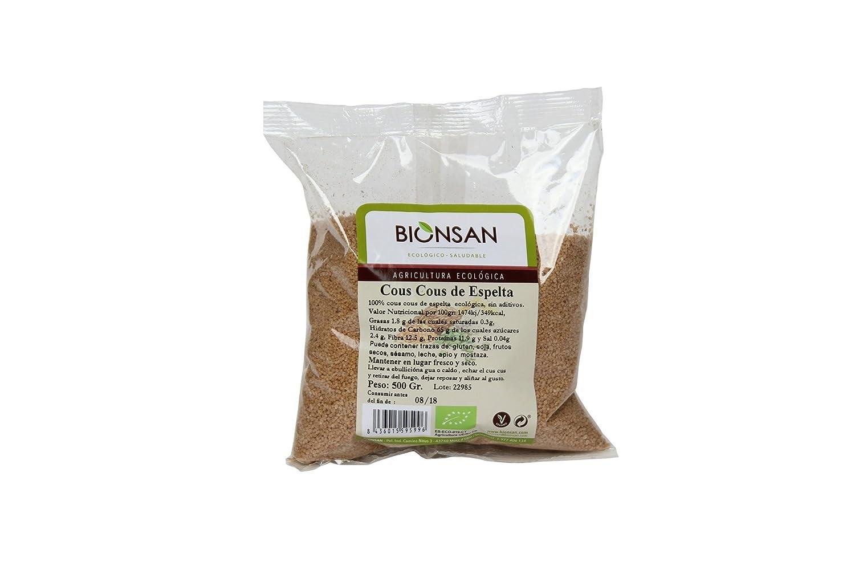 Bionsan Cous Cous de Trigo Espelta - 6 Paquetes de 500 gr - Total ...