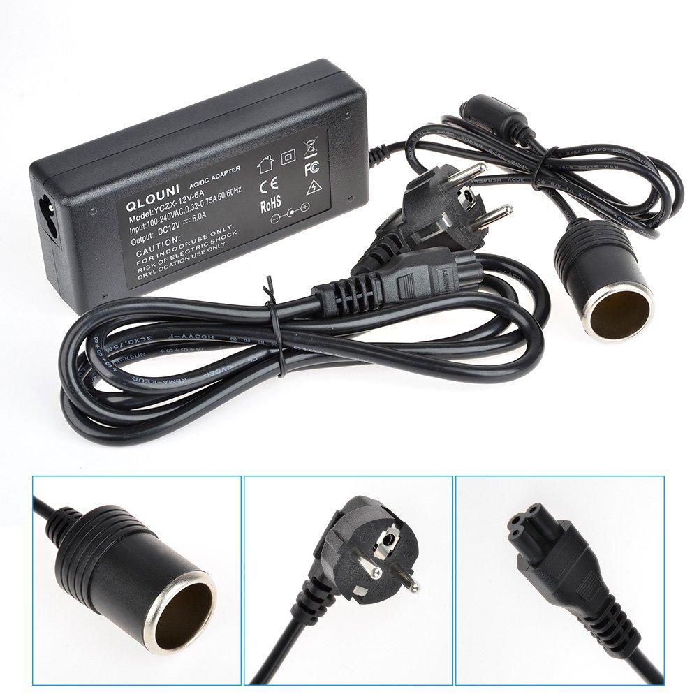 Rectificador de potencia Deallink Adaptador alimentación Transformador tensión Convertidor voltaje 100: Amazon.es: Electrónica