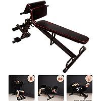 CCLIFE Trainingsbank Bauch-/Rückentrainer Hantelbank Schrägbank klappbar verstellbar Multi Workout Römischer Stuhl