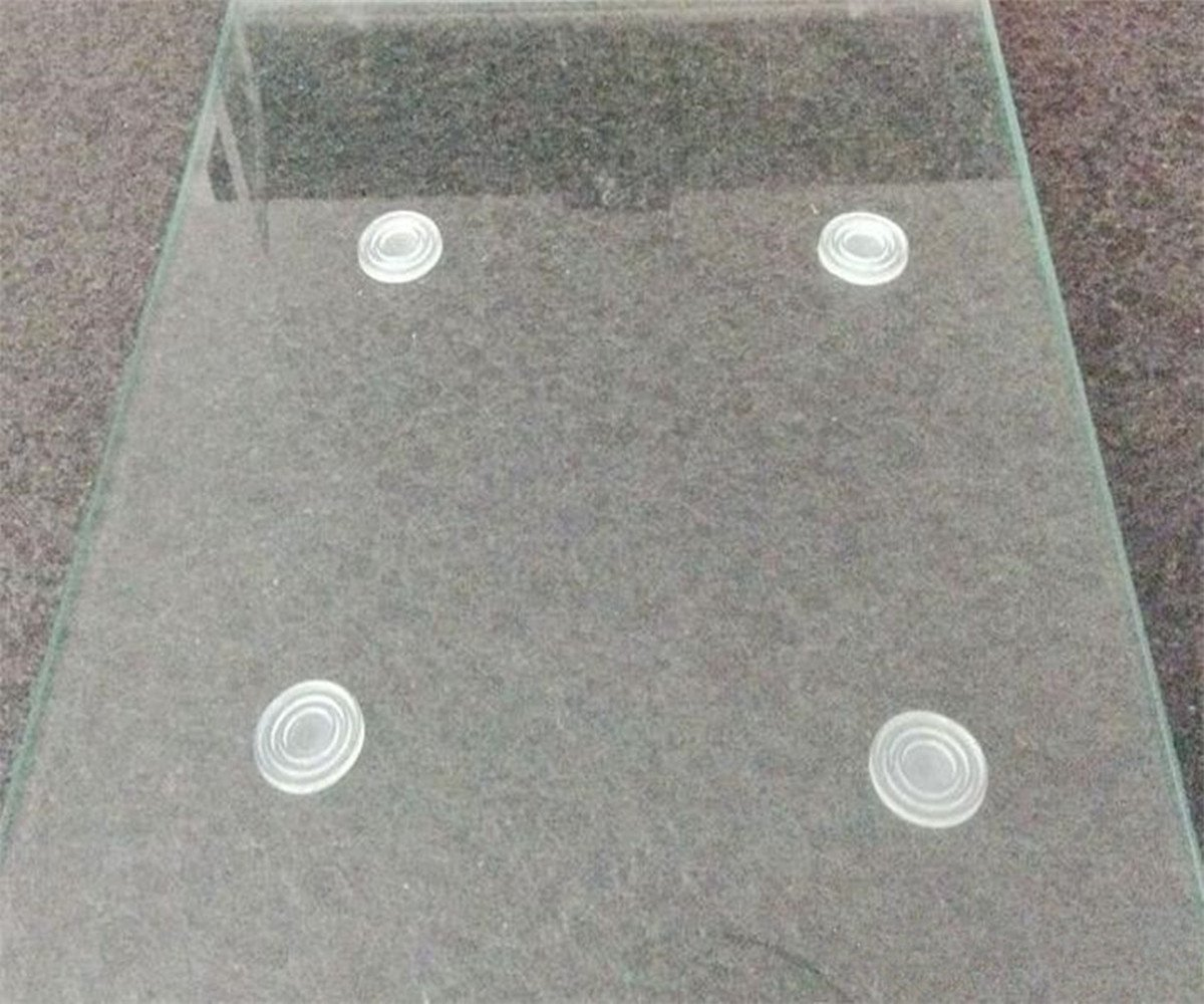 Clear Glass Table Top Bumper Non Adhesive Glass Table Top Spacer