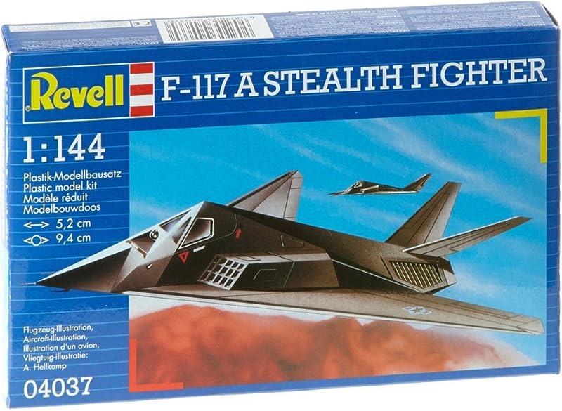 1/144 F-117A ステルス・ファイター 04037