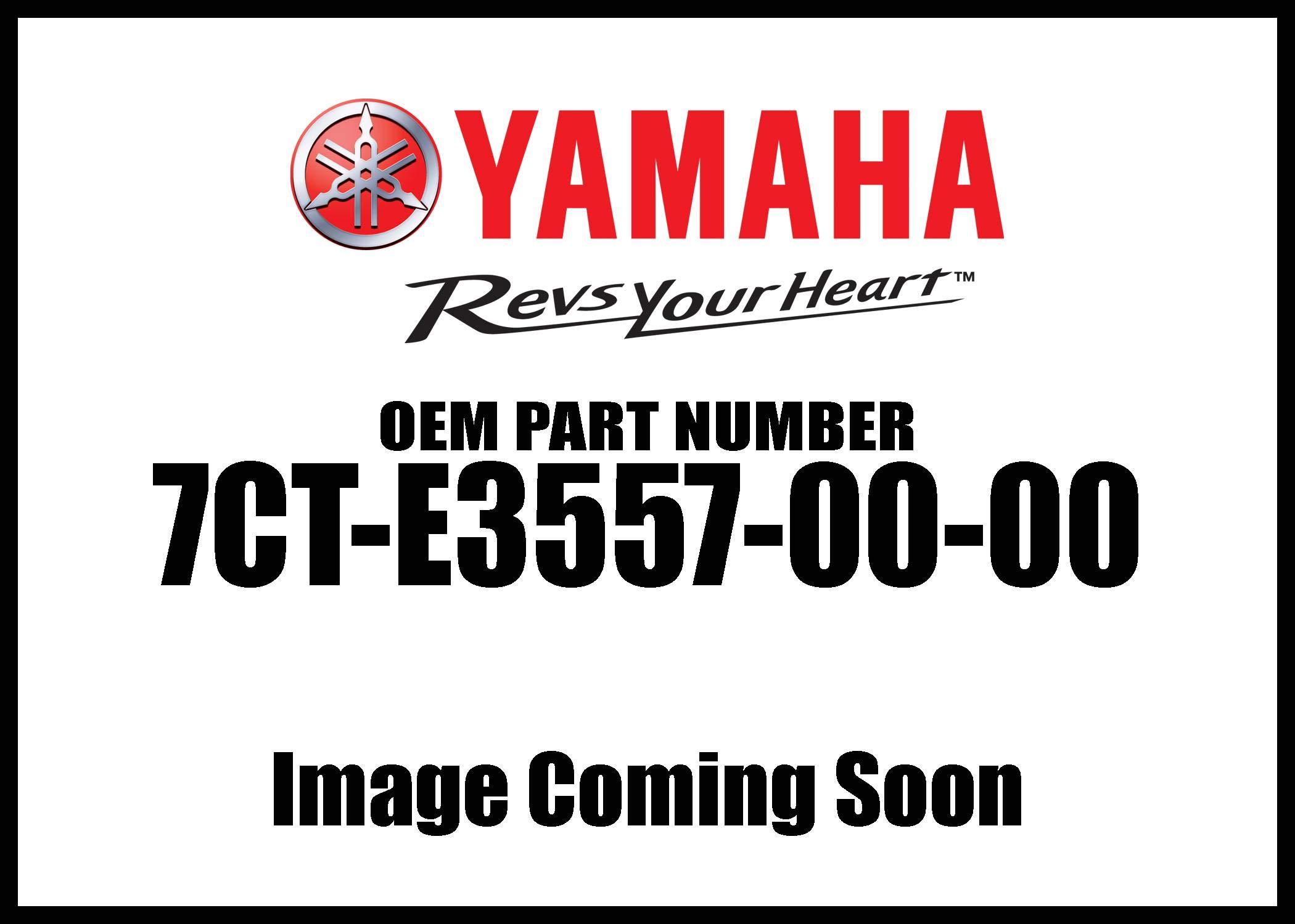 Yamaha 7CT-E3557-00-00 GASKET; 7CTE35570000