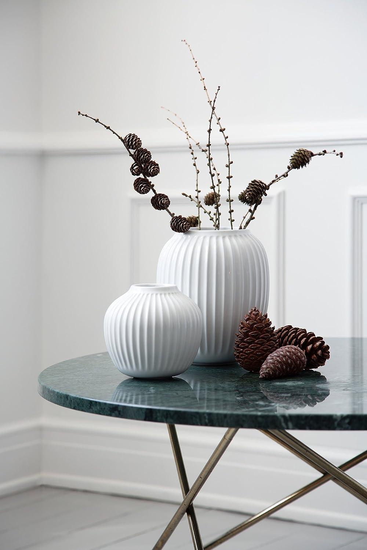 /medio grande design scandinavo vaso di ceramica White Terraglia Kahler Hammershoi/ 6.5 In. Diameter: 165mm 7.9 In. Height: 200mm