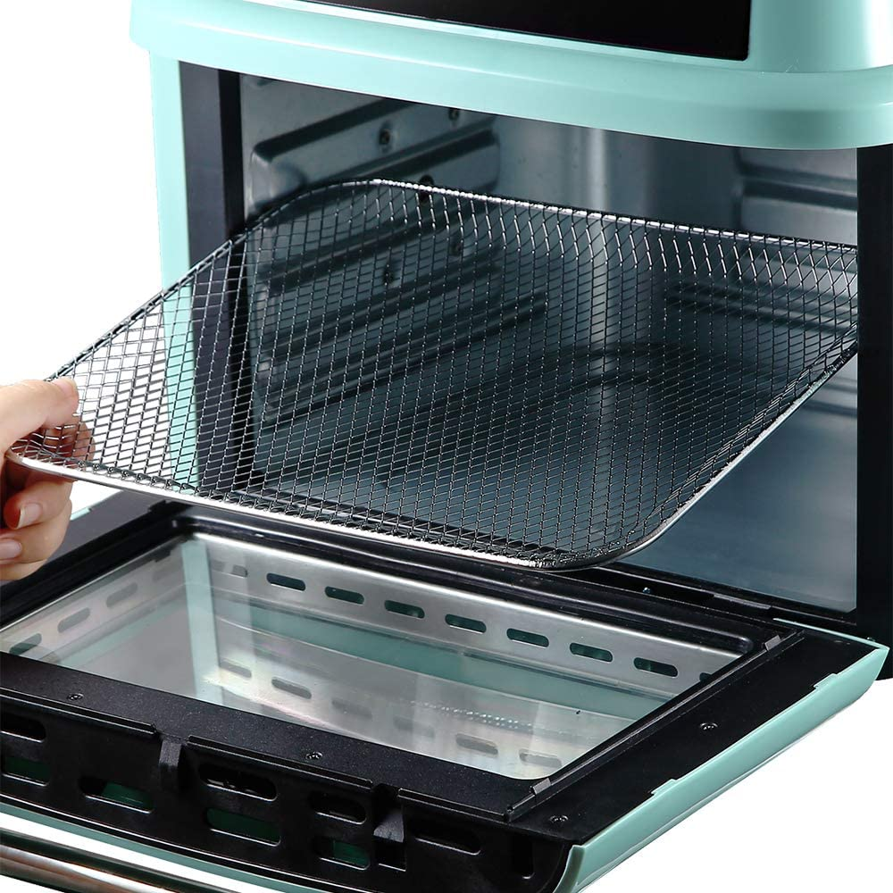 All-in-one air fryer, oven, rotisserie and dehydrator large air fryer (green)