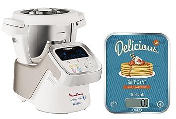 Moulinex Hf9001 I Companion Robot Multifunzione Da Cucina Connesso Alla Sua App Bilancia Da Cucina Tefal Optiss Delicious Pancakes