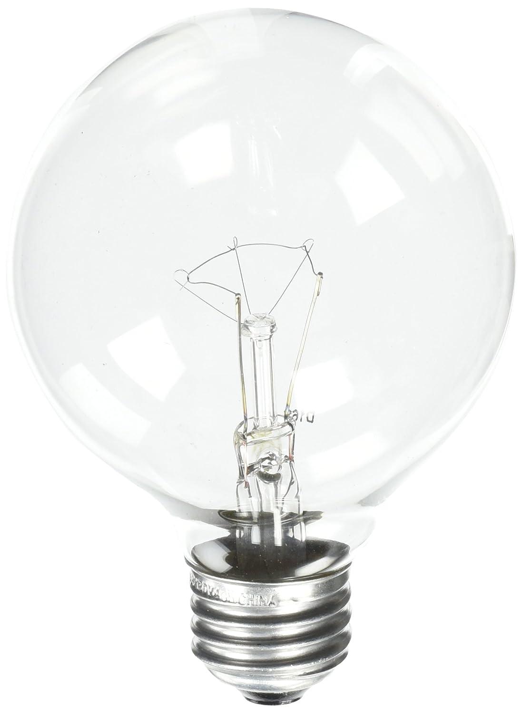 130 Volt Clear Incand G25 Light Bulb 3500 Hour 320 Lumen Westinghouse Lighting 0421900 40 Watt