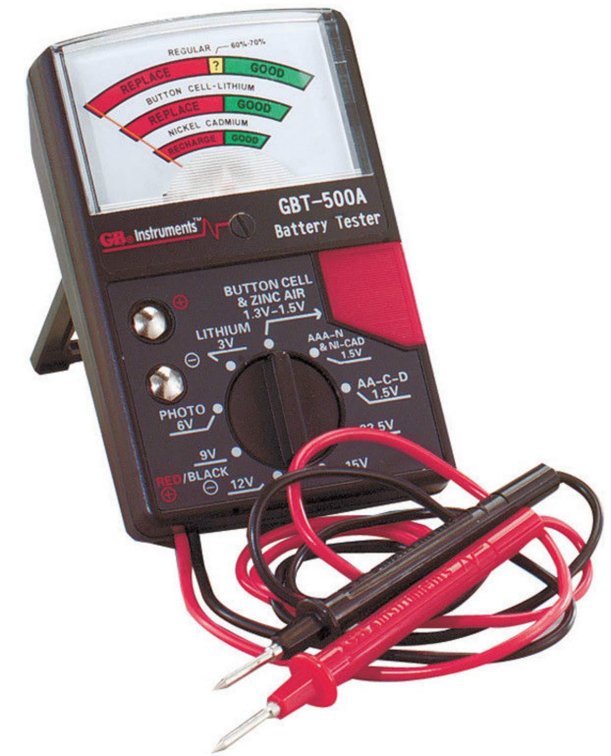 Gardner Bender 1.5V to 22.5V Analog Battery Tester