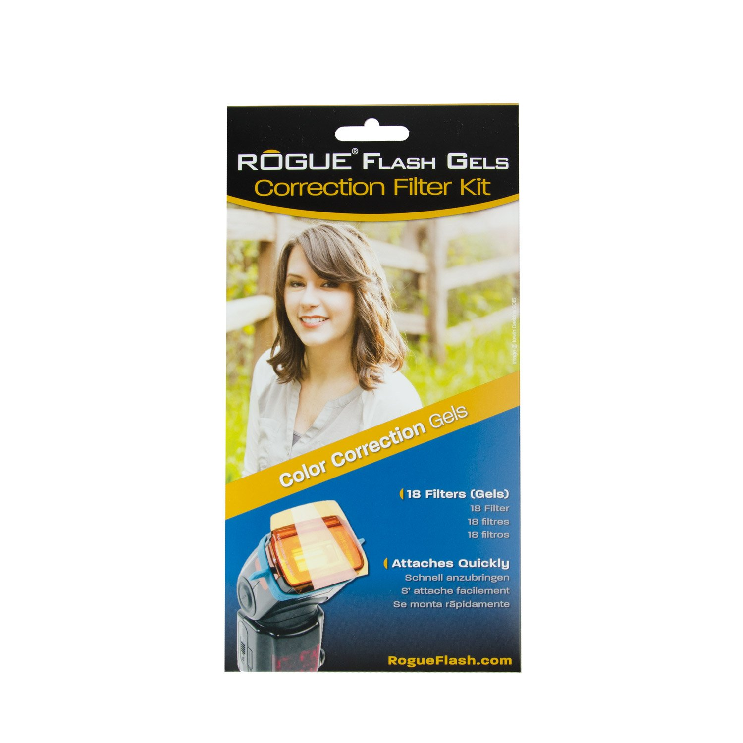 Rogue Photographic Design ROGUEGEL-CC Flash Gels Color Correction Filter Kit by Rogue Photographic Design (Image #2)