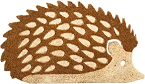 Evergreen Flag 2RM413 Hedgehog Shaped Coir Mat, Multi-Colored