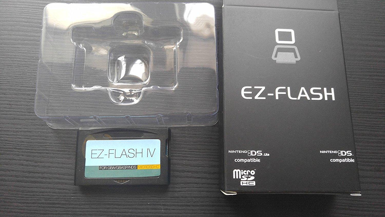 Nueva versión EZ Flash iV MicroSDHC con v1.77 Latest Kernel ...
